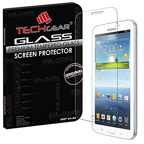 Samsung Galaxy Tab 3 17,78 cm TEACHGEAR (SM-T210/P3200 Serie) aus Hartglas Displayschutz für echte Edition - nicht für Samsung Galaxy Tab 3 7.0 Lite (Modell SM-T110 Serie) (Samsung Galaxy Tab 3 Lcd-display)