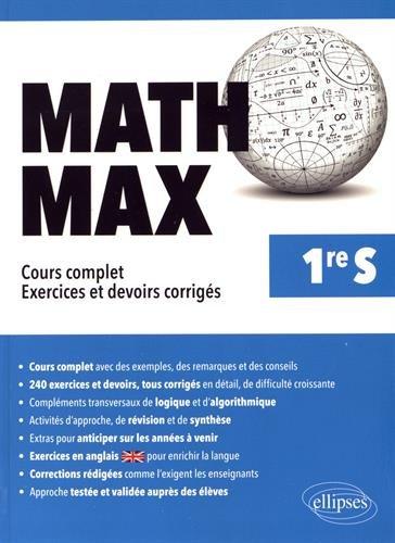 Math Max Premiere S par