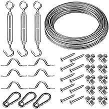 Resistente Cable de acero inoxidable Cable Cuerda de alambre kit de Baranda para 1/8