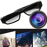 Mini cámara de Video de 1080p HD Gafas Gafas Grabadora de Video DVR Cámara de Video para Deportes...
