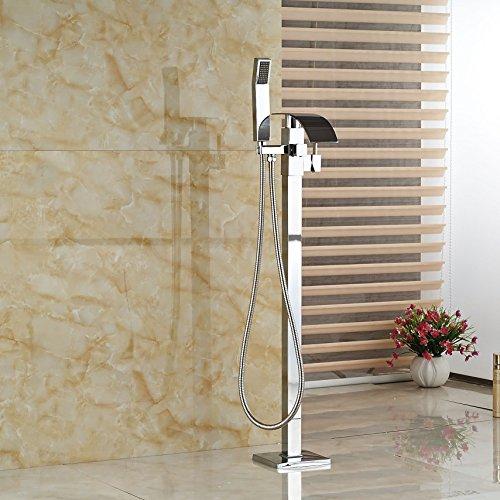 Rozine Cascade Baignoire robinet mitigeur douche baignoire robinet robinet W/Pommeau de douche type de sol, R1106
