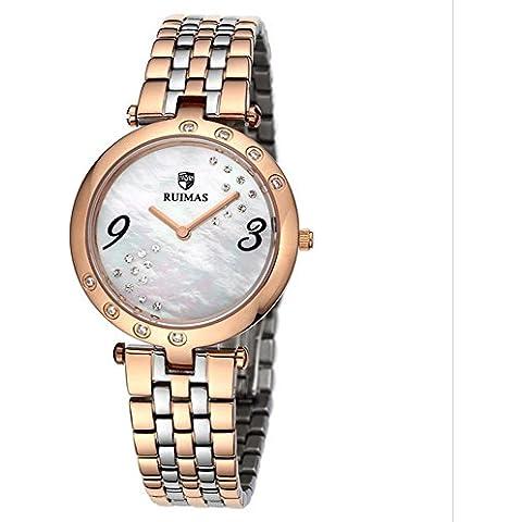 Moda ladies orologi cronografo al quarzo , rose gold - Rose Rose Gold Pocket Watch