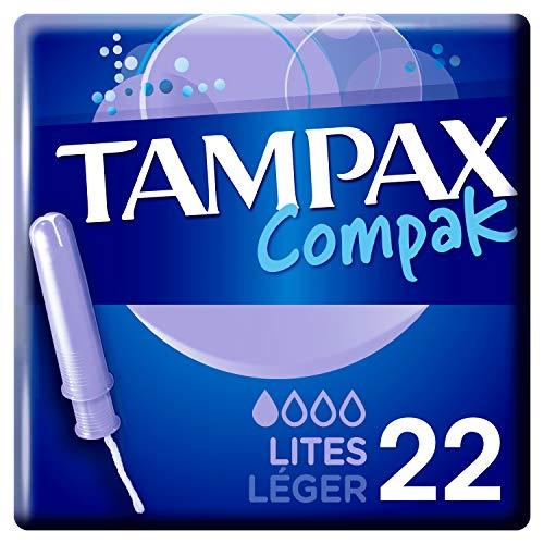 Tampax Compak Lites Tampones Con Aplicador