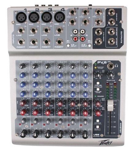 Peavey-mixer Usb (Peavey PV8 USB Mixer)