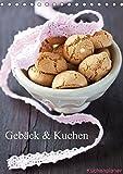 Gebäck und Kuchen Küchenplaner (Tischkalender 2018 DIN A5 hoch): Gebäck und Kuchen zum Anbeissen (Geburtstagskalender, 14 Seiten )