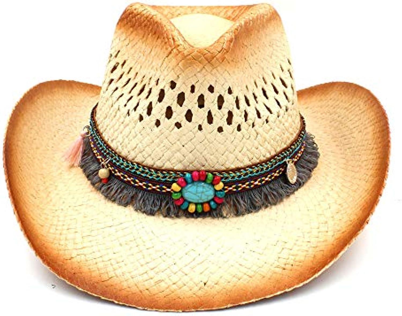 Cappello da cowboy occidentale delle donne con di modo con donne il tessuto  fatto a mano 26f6bf2b501b