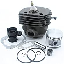 50mm Cylinder Piston Intake Manifold Decompression Valve Kit For HUSQVARNA 365 371 372 XP 362 Chainsaw Engine Motor Parts