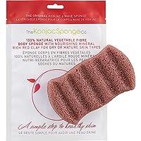 konjac esponja 6Wave cuerpo esponja, francés rojo arcilla