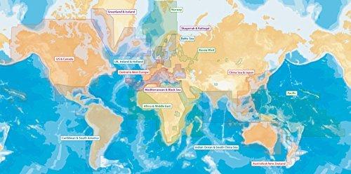 Navionics Updates Global Regions Marine and Lake Charts on SD/MSD