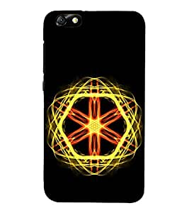 Vizagbeats Atomic Energy Back Case Cover for HUAEWI Honor 4X