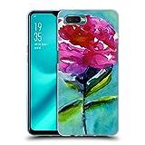Head Case Designs Offizielle Mai Autumn Pfingstrose 2 Bluete Blumig Soft Gel Hülle für Oppo R15x