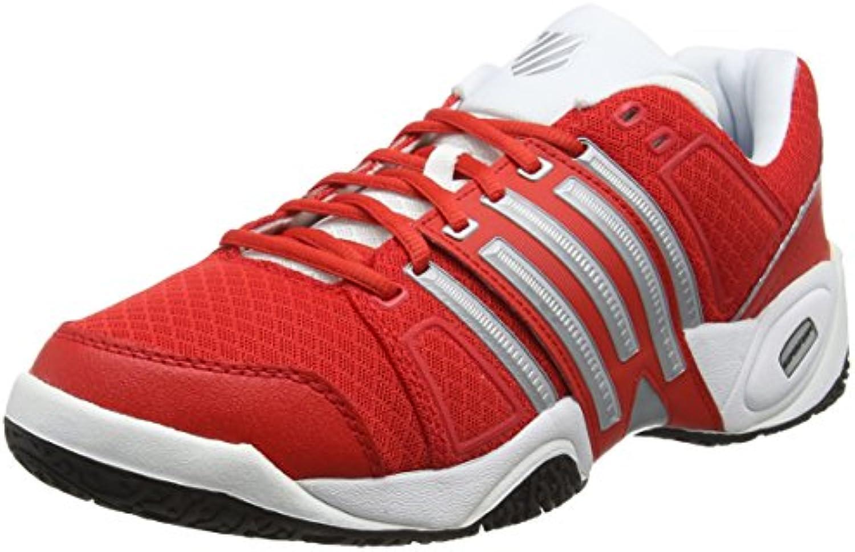K-Swiss Accomplish II Mesh Omni Fiery - Zapatillas para Hombre, Color Rojo  -