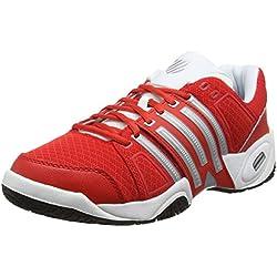 K-Swiss Accomplish II Mesh Omni Fiery - Zapatillas para hombre, color rojo, talla 43
