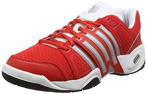 K-Swiss Accomplish II Mesh Omni Fiery - Zapatillas para hombre, color rojo,...