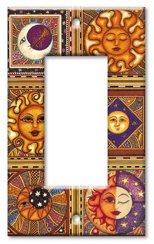 Art Plates Wandteller, Übergröße, Himmelstiale EINZEL ROCKER - 2 Rocker Wall Plate