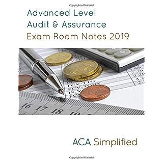 Advanced Level Audit & Assurance Exam Room Notes 2019