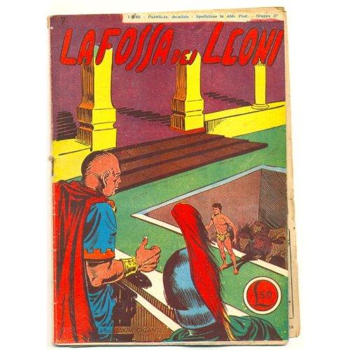 AKIM GIGANTE n. 7 La fossa dei leoni 1960 tomasina usato  Spedito ovunque in Italia