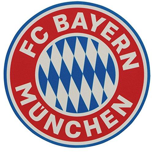 FC Bayern München Logo Tortenaufleger, Cake Toppers, essbare Torten Auflage- Plus gratis Lesezeichen I Love München