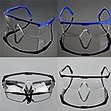 10 PCS Augenschutzbrillen Rot Laser Schutzbrille Outdoorbrille Armee Arbeitsschutzbrille, Einheitsgröße