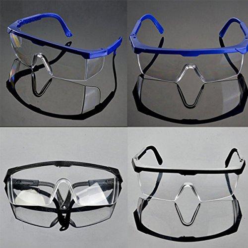 5 PCS Sportbrille Schutzbrille Outdoorbrille Armee Arbeitsschutzbrille, Einheitsgröße, Blau
