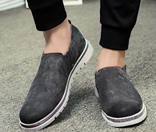 Autunno Scarpe Casual Uomini Versione Coreana Scarpe Scarpe Set Di Scarpe Da Uomo Gray