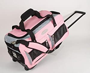 Wheeled Holdalls 21 inch Jeep Luggage Cabin Bag 557pink