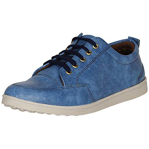 Marco Ferro 1667 Blue Men's Casual Shoes Lace Up 6 UK