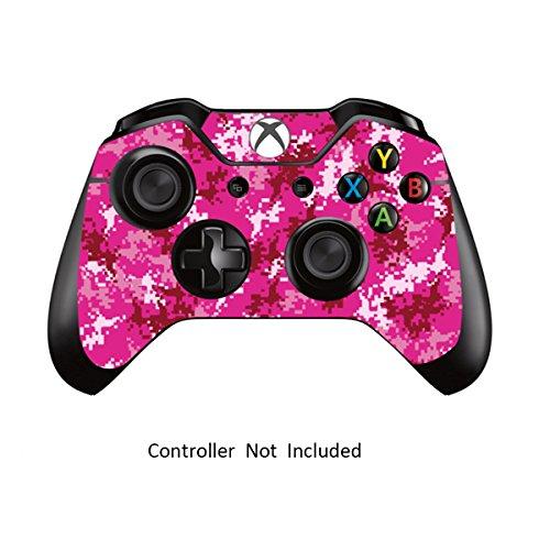 Skins für Xbox One Controller Aufkleber für benutzerdefinierte Xbox 1 Fernbedienung Skins - Modded X1 Zubehör Aufkleber - Digicamo Pink [ Controller Ist Nicht Enthalten ] By Gamexcel &Reg;