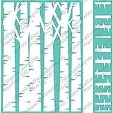 "Cuttlebug - Embossing Folder 5""x7"" + Border 1.25""x7"" - Birch Tree"