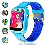 Vannico Bambini LBS Smartwatch, localizzatore LBS, Chat Vocale SOS Camera Torcia Giochi Sveglia per Regalo Bambini