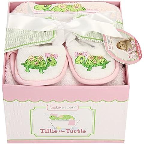 Baby Aspen Tillie la tartaruga, 4 pezzi, Confezione regalo Set