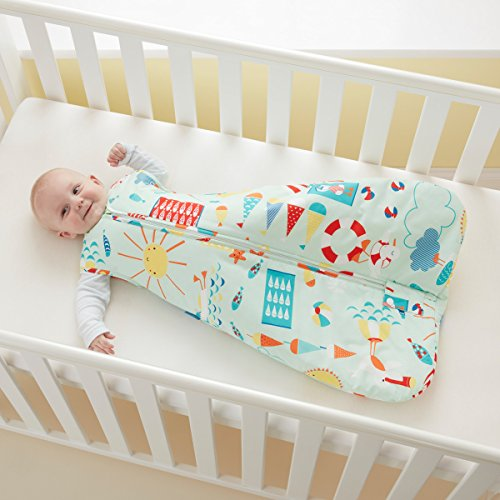 Gro AAA4752 Baby Jungen Schlafsack, 18-36 monate, mehrfarbig