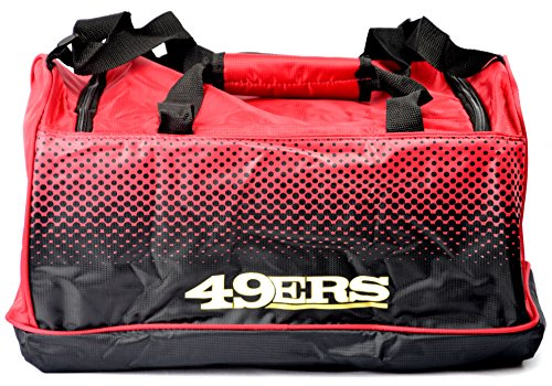 NFL FADE SMALL HOLDALL BAG San Francisco 49ers