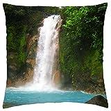 Rio Celeste National State Park, Costa Rico - Throw Pillow Cover Case (18