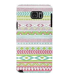 PrintVisa Designer Back Case Cover for Samsung Galaxy Note 5 :: Samsung Galaxy Note 5 N920G :: Samsung Galaxy Note5 N920T N920A N920I (Girly Pattern Tribal Floral Fabric Culture Rajastan Andhra)