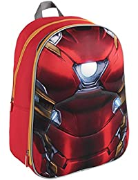 Marvel 210000162040cm Iron Man 3d efecto traje mochila