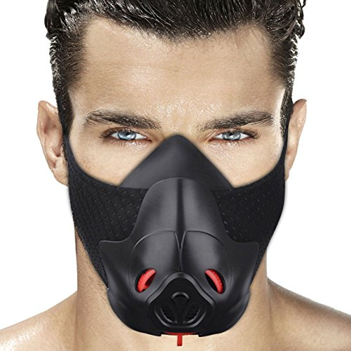 Sport Workout Training Mask Hypoxic Breathing Resistance