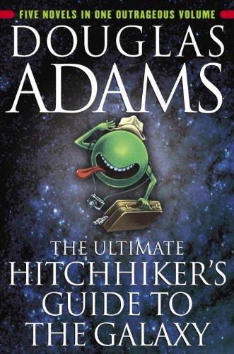 Buchseite und Rezensionen zu 'The Ultimate Hitchhiker's Guide to the Galaxy' von Douglas Adams