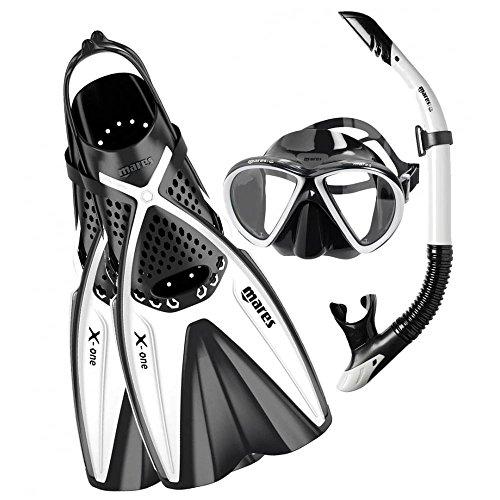 Mares Adultes de plongée Kit x de One Marea M/L Blanc - Blanc