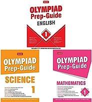 Olympiad Prep-Guide English Class - 1&Olympiad Prep-Guide Science Class - 1&Olympiad Prep-Guide Mathem