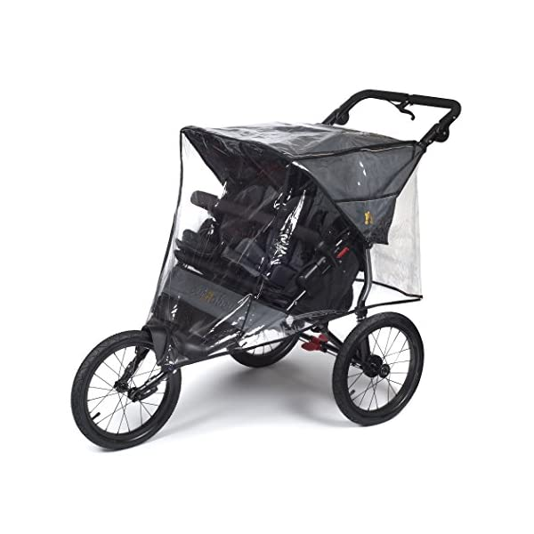 Out n About Nipper Sport v4 Double Stroller Steel Grey