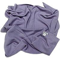 Baby Kaschmir Decke, gestrickt 4 PLY Mongolische Kaschmir Decke (28/2 Garn-Zusammenstellung), Luxuxwinter Baby Decke Lila