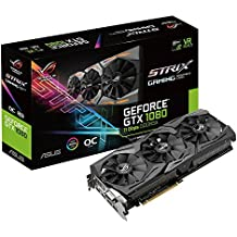 Asus ROG-STRIX-GTX1080-O8G-11GBPS Carte graphique Nvidia GeForce GTX 1080 PCI Express 3.0