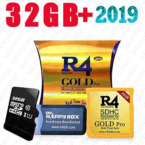 2019 Gold Pro & 32 GB Micro SD-Karte, DS / DS Lite / DSi / DSi XL / 3DS / 2DS - 5-sprachiger ES / IT / DE / FR / UK-Kernel herunterladen
