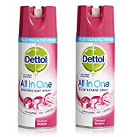 Dettol Disinfectant Spray - 400 ml (Orchard Blossom) Pack Of 2