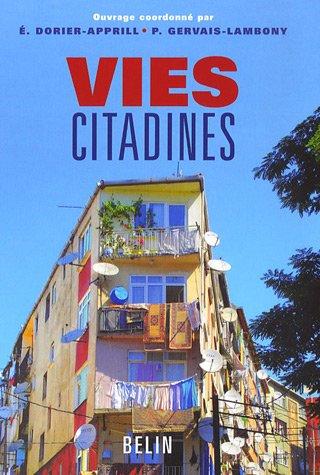 Vies citadines par Elisabeth Dorier-Apprill