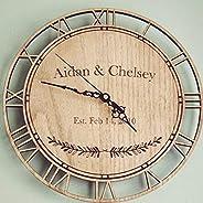 Horloge personnalisé de date d'anniversaire (mariage, anniversaire, cadeau d'anniv