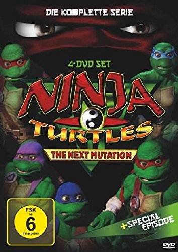 Ninja Turtles - The Next Mutation: Die komplette Serie [4 DVDs]
