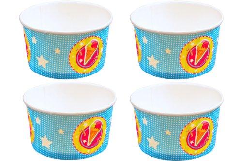 Folat 8 EIS-Becher * Cup Cake * für Party und Geburtstag // Kindergeburtstag (Cupcake Party Becher)
