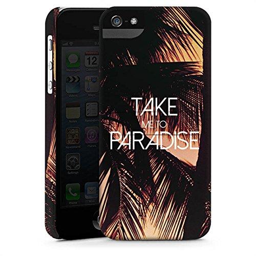 Apple iPhone X Silikon Hülle Case Schutzhülle Palmen Urlaub Sommer Premium Case StandUp
